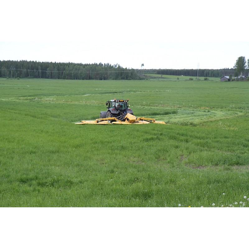 Широкозахватная дисковая (роторная) двухсекционная косилка с кондиционером или плющильным аппаратом серии Arrowe NM 9000 Delta (ELHO, Финляндия)