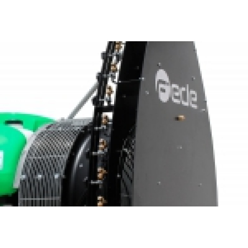 Прицепной опрыскиватель для садов и виноградников «Inverter Qi 9.0 Ecoteqi» (Fede, Испания)