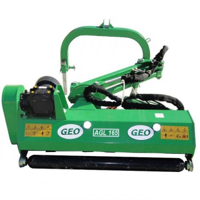 Измельчитель с гидравлической поворотной рамой AGL 125-165 (GEO, Италия)