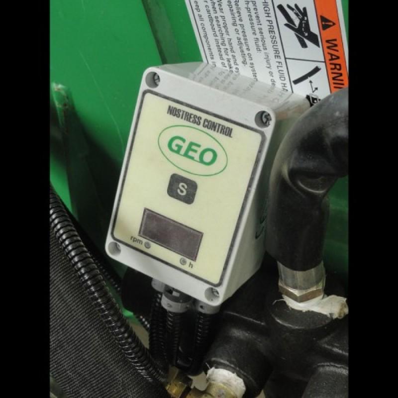 Измельчитель веток (рубильная машина) ECO 25 c бензиновым двигателем (GEO, Италия)