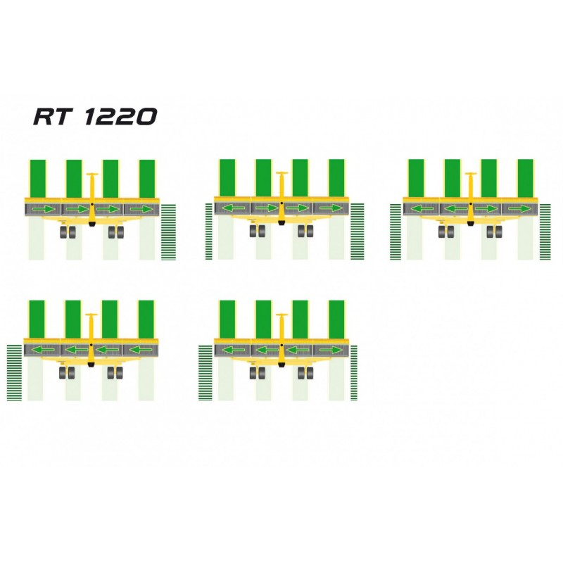 Ленточный  валкообразователь RT 1220 (Италия)