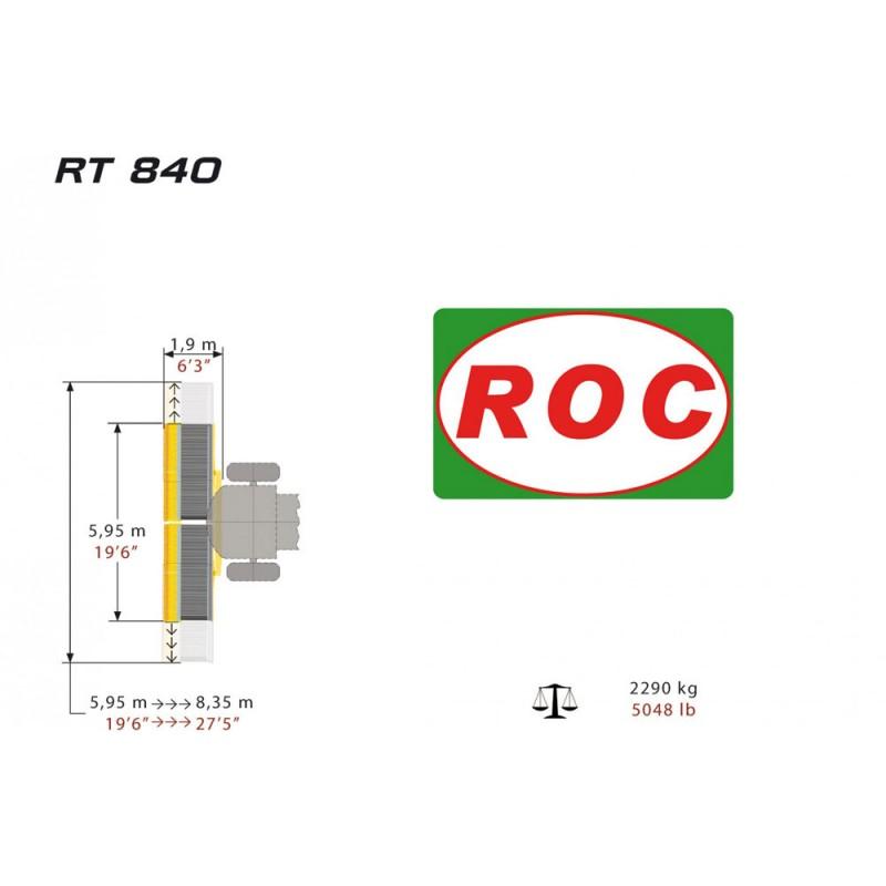 Ленточный валкообразователь RT 840 (Италия)
