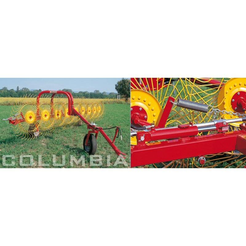 Колесно–пальцевые грабли-ворошилки, валкообразователи серии «TR» типа Columbia Sitrex Италия (шириной захвата до 7,5 м)
