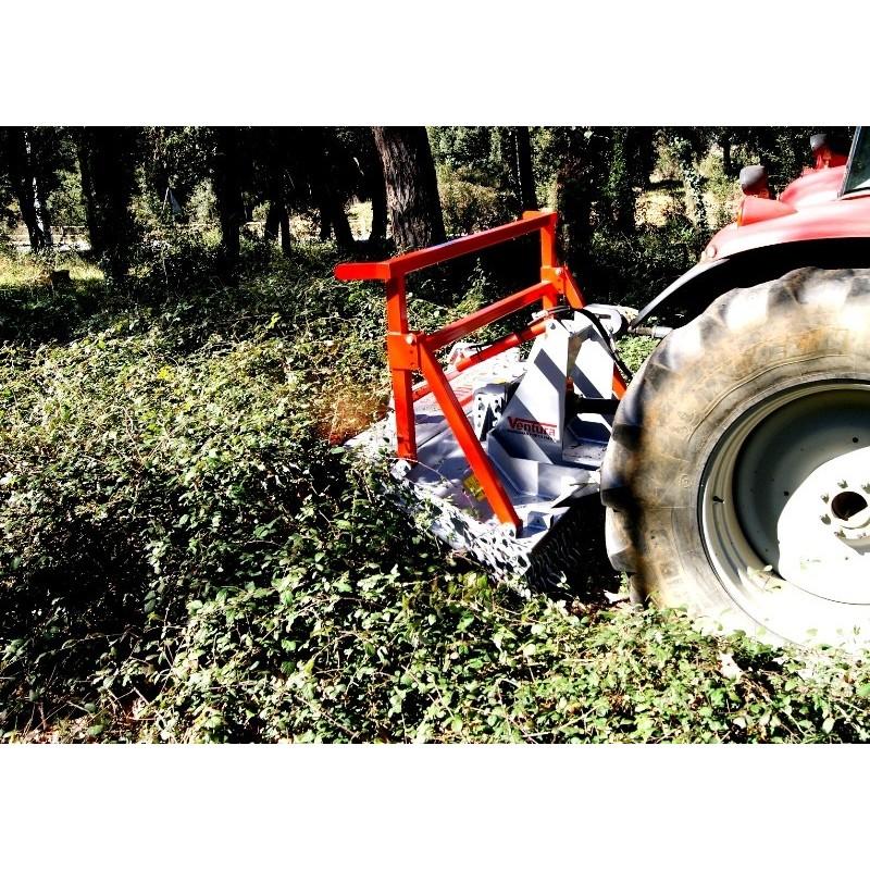Лесной мульчер (измельчитель) TFVJA (Ventura, Испания)