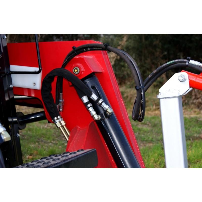 Лесной мульчер (измельчитель) на экскаватор или погрузчик TFVJH (Ventura, Испания)