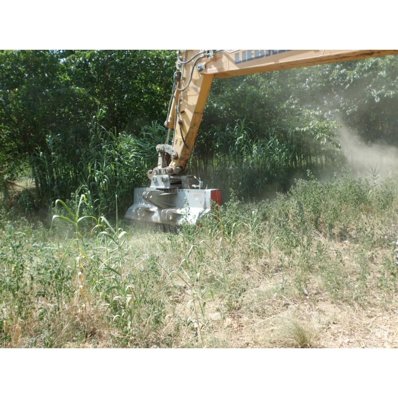Мульчер лесной (измельчитель деревьев) на экскаватор TFVJMFH (Ventura, Испания)